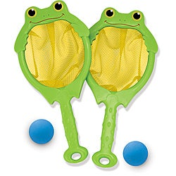 Melissa & Doug Froggy Toss & Catch Net & Ball