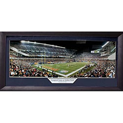 Chicago Bears 'Inaugural Game at Soldier Field' Panoramic Frame - Thumbnail 0