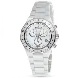 Skagen Women's C913SWXC Ceramic Round White Bracelet Watch|https://ak1.ostkcdn.com/images/products/P14220506.jpg?_ostk_perf_=percv&impolicy=medium
