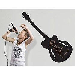 RoomMates Rock Star Peel and Stick Chalkboard Wall Decals