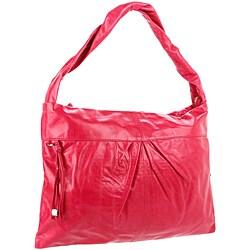 Hobo International Betty Fuchsia Leather Shoulder Bag