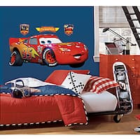 RoomMates Cars Lightening McQueen Peel and Stick Giant Wall Decal