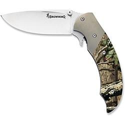 Browning Mossy Oak Infinity Tactical Hunter Knife - Thumbnail 0