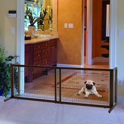 Richell Freestanding Pet Barrier - Thumbnail 0