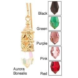 Ardent Designs 14 Kt Goldfilled 'Letya' Crystal Earrings