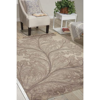Nourison Utopia Ivory Abstract Rug (2'6 x 4'2)