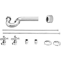 Belle Foret Chrome Lavatory Angle Supply Kit