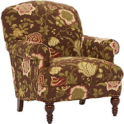 Shop Broyhill Sophia Floral Accent Chair Free Shipping