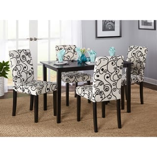 simple living sophia 5 piece parson dining set - Contemporary Dining Room Tables