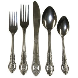 Bellamo Stainless Steel 45-piece Classic Flatware Set (Service for 8)