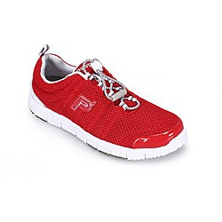 Propet Women's 'TravelWalker II' Red Mesh (Wide)