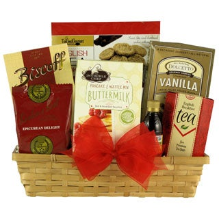 Great Arrivals Rise and Shine Gourmet Breakfast Gift Basket