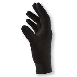 Outlast/Acrylic/Spandex Black Breathable Stealth Glove Liner