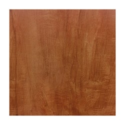 LessCare 'Century Series' Toffee Cherry Glueless Locking System Laminate Flooring Planks (Set of 9)