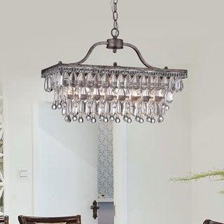 crystal glass drop light antique copper chandelier  free, Lighting ideas