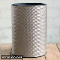 LaMont Home 1530 Basketweave Round Wastebasket