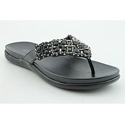Kenneth Cole Reaction Women's Glamathon Black Sandals