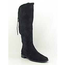 Anne Klein AK Women's Cognac Black Boots