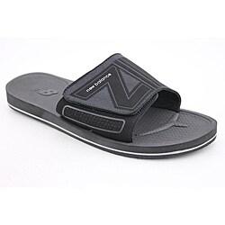 Mosie Slide Black Sandals - Overstock