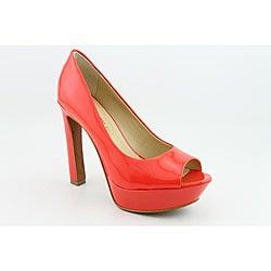 Luxury Rebel Women's Carlita Orange Dress Shoes - Thumbnail 0