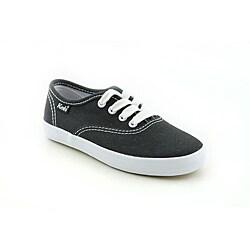 Keds Girl's Original Champion CVO Black Casual Shoes