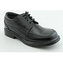 Kenneth Cole Reaction Kids Boy's T-Flex Sr Black Dress Shoes