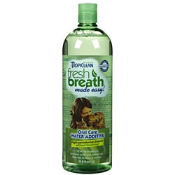 Tropiclean Fresh Breath Water Additive 33.8 ounces