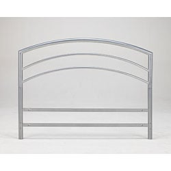 Sleep Sync Arch Flex Queen Silver Metal Headboard