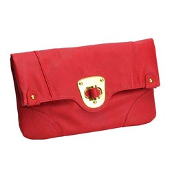 Urban Expressions 'Chelsea' Red Clutch