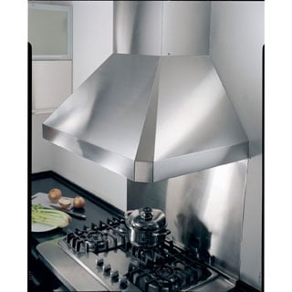 "KOBE RA0248SQB-DC-5 Deluxe 48"" Wall Mount Range Hood, 3-Speed, 1100 CFM, LED Lights, Baffle Filters"