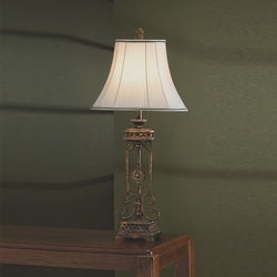 Antique Gold 31-inch Table Lamp - Thumbnail 0