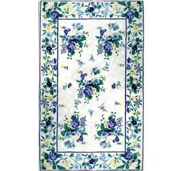 Florentina Lavender Wool Rug (5'6 x 8'6)