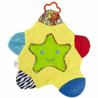 Learning Curve Star Teething Blanket