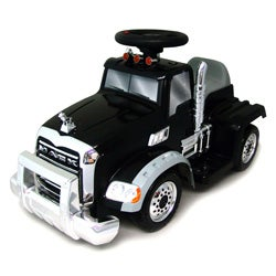 New Star 6 Volt Ride On Classy Mack Truck with Directional Movement - Thumbnail 0