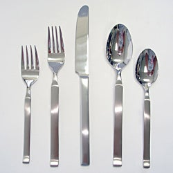 David Shaw Orchid 45pc Flatware Set