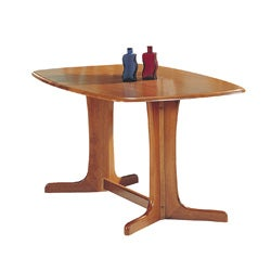 'Stockholm' Oak-finished Dining Table