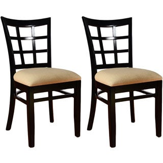 Lattice Dining Chairs (Set of 2)