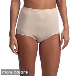 Hanes Women's Full-Cut-Fit Stretch Cotton Brief