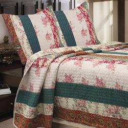 Rosa Stripe 3-piece Quilt Set