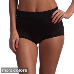 Bali Women's Lace Skamp Shapewear Briefs