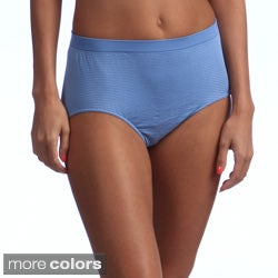 Bali Women's Comfort Revolution Microfiber Solid Brief