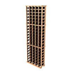 Traditional Redwood 5 Column Wine Rack