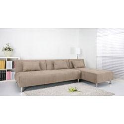 Atlanta stone convertible sectional sofa bed free for Atlanta convertible sectional sofa bed