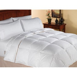 summer weight warmth 500 fill power white down comforter free shipping today. Black Bedroom Furniture Sets. Home Design Ideas