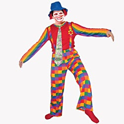 Dress Up America Adults' 'Laughing Clown' Costume