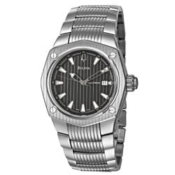 Bulova Accutron Men's 'Corvara' Stainless Steel Swiss Automatic Watch