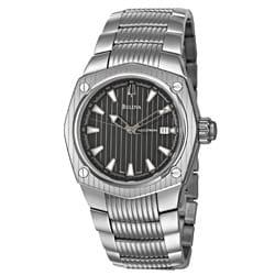 Bulova Accutron Men's 'Corvara' Stainless Steel Swiss Automatic Watch