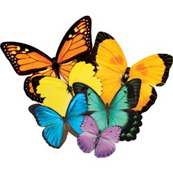 Paper House Butterflies 500-piece Jigsaw Shaped Puzzle