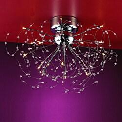 Joshua marshal home collection medusa 15 light chrome for Medusa light fixture