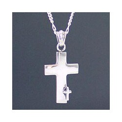 Handmade Sterling Silver Men's 'Faithful' Necklace (Indonesia)